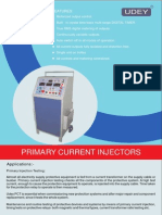 Primary Current Injector PCT Trolley