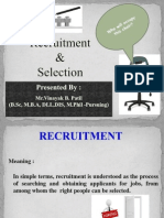 Recruitment & Selection PPT