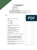 Audit Programme Sales Credit Notes Comprehensive Tests