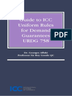 ICC Guide to ICC Uniform Rules for Demand Guarantees URDG 758