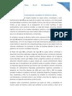 Ensayo. Resurgimiento Del Movimiento Socialista en América Latina.
