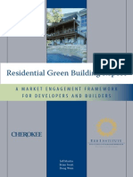Residential Green Build Report
