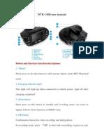 Dvr c 600 Manual