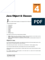 Java Objects and Classes
