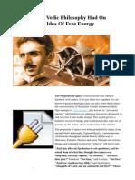Nikola Tesla's Idea Of Free Energy