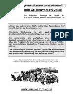 Voelkermord Am Deutschen Volk