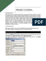 MICROSOFT+PROJECT+TUTORIAL[1]