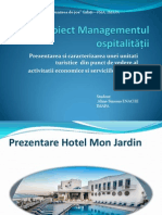 Proiect Managementul ospitalității