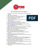 100 Activity Ideas