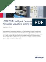UWB-WiMedia Application notes