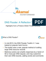 DDoS Attack Threats | DNS Flooder Attack Toolkit | Akamai Presentation