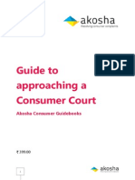 Guide to Approaching a Consumer Court