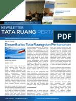 Newsletter Tata Ruang dan Pertanahan Edisi 7/Agustus  2014