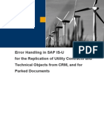 Error Handling ECRMREPL