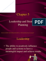 Chp- 5 Leadership and Strategic Planning