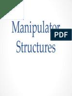 Industrial Robots Manipulator Structures