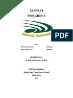 Referat radiologi pneumonia