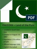 Pakistan - About