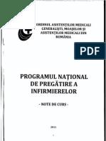Programul National de Pregatire a Infirmierelor