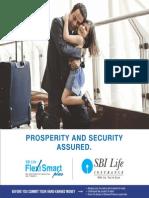 SBI LIFE INSURANCE - Flexi Smart Plus Brochure English