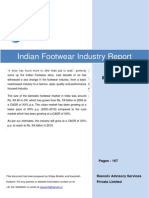 Indian Footwear Industry Report
