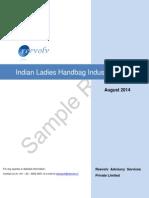 Indian Ladies Handbag Industry Report