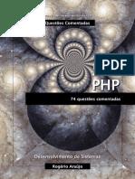 74 Questões Comentadas PHP