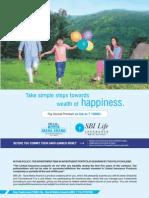 SBI LIFE INSURANCE - Saral Maha Anand Brochure New Version