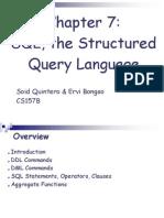 SQL Presentation 1