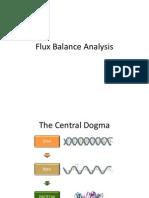Flux Balance Analysis