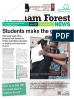 Waltham Forest  News August 2014