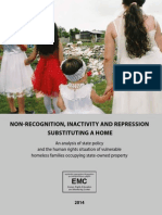 Non-recognition, Inactivity and Repression Substituting a Home