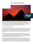 The Nile River in Ancient Egyptian Civilization