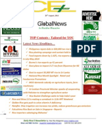 26th August,2014 Daily Global Rice E-Newsletter by Riceplus Magazine