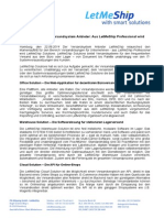 LetMeShipSolutions -Markenrelaunch Bei Versandsystem Anbieter