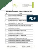 MechanicalProject 20132014