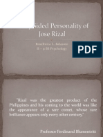 Many Sided Personality of Rizal