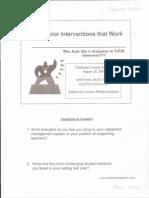 robertgreen professionaldevelopment behavior intervention