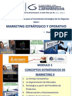 Sesión 2 Conceptos Estratégicos de Marketing II