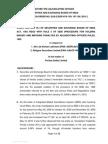 Adjudication Order against Shri Jai Kishan Lakhmani and Religare Securities Ltd in the matter of Veritas (India) Limited