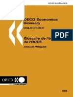 OECD Economics Glossary