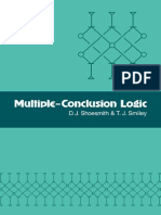 D. J. Shoesmith and T. J. Similey - Multiple Conclusion Logic