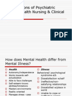 1 Foundations of Psychiatric Mental Health Nursing &