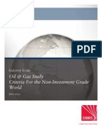 2014.07_Oil & Gas Study - Criteria for the Non Investment Grade World