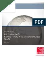 2014.07_Oil & Gas Study - Criteria for the Non Investment Grade World