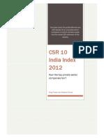 CSR10_Indiaindex_2012