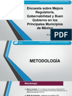 Encuesta Sobre La Mejora Regulatoria CEESP 2014