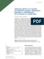 2014 Síndrome Pléxico Y-o Vascular Del Miembro Superior, Diagnóstico Específico y Rehabilitación de Las Formas No Complicadas