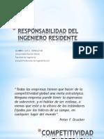 Responsabilidad Del Residente