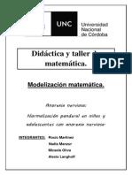 Informe modelización